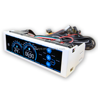 Alseye DA0306 manufacture a-100L pc fan speed controller 4 pin lcd front panel