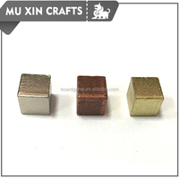 10mm durable metal cube board game znic alloy cubes