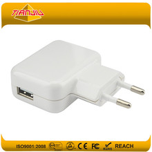 Wholesale wireless phone chargers 5V 2.1A USB socket wall charger for mobile phone,pad,camera