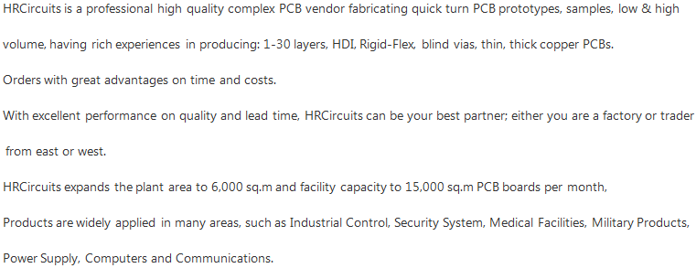 Printed Circuit Board PCB Manufacturer