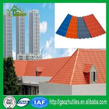 recycled color uv-protected roofing tiles for houses with high quality