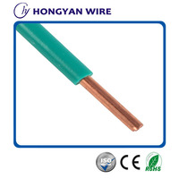 0.5mm,0.75mm,1mm,1.5mm,2.5mm,4mm copper single cable 300/500V copper single cable BV electric wire