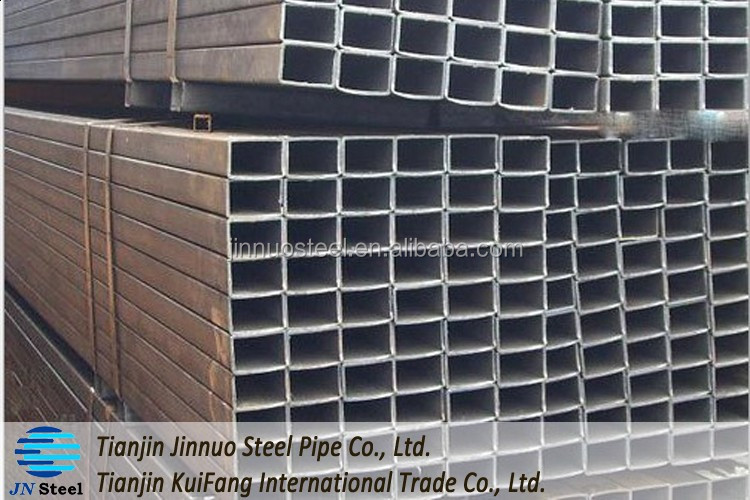 Hot selling weight ms rectangular stkr400 200x200 gi square steel pipe with low price