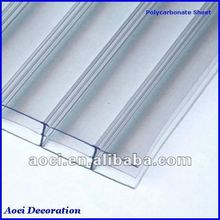 16mm polycarbonate panels white triple wall four layer polycarbonate hollow sheet