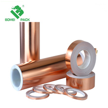copper tape single/double side conductive tape copper adhesive tape manufacturer
