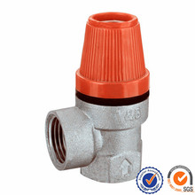 thread end connection safety relief valve 1/2brass ball for water 6l fire extinguisher wet chemical