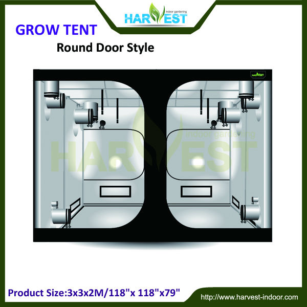 300x300x200 indoor plant grow tent hot sale greenhouse