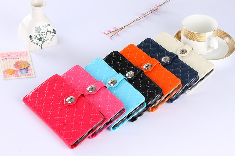 2016 New Luxury Fashion Flip Wallet Patent Leather Case Cover For Sony Ericsson Z5 with card holder Stand design Wallet bag