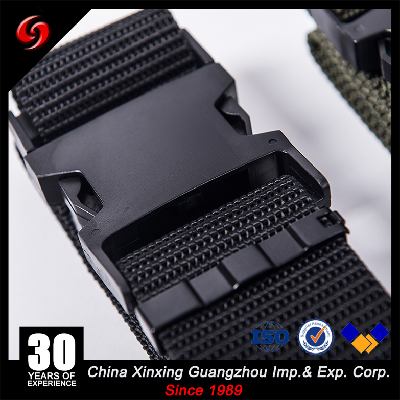 Quick release PP nylon polyester pistol belt army carry setup drag belt for marine corps style with buckle