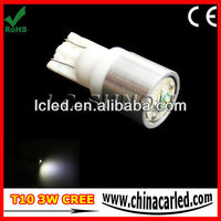Hottest High Power T10 3W Cree Car LED