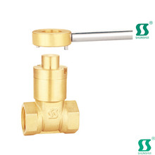 Alloy steel gate valve din3352 resilient seated industrial manual slide