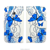 IN STOCK !! Floral PU Wallet Case for Samsung Galaxy S3 Mini i8190