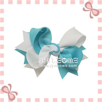 Handmade Grosgrain Ribbon Hairpin Hair Clips For Girls
