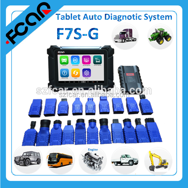 Fcar F7S auto scanner basic on android system for diesel and petrol