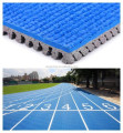 Manufacturer IAAF Certified Huadongtrack, Prefabricated Rubber Flooring For Running Track