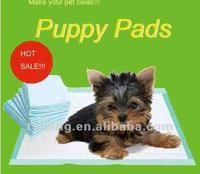 puppy pet training pad with sticker to fix on floor