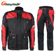 Lightweight Summer Safest Black Best Mens Armored Leather Sport Motorcycle Touring Clothing Jacket