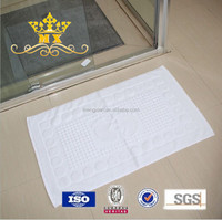New Design Hotel Cotton Loofah Padded Bath Mat