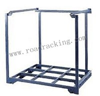 Textile industry warehouse stacking fabric storage rack