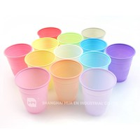 5oz colorful Disposable Plastic Dental Cup