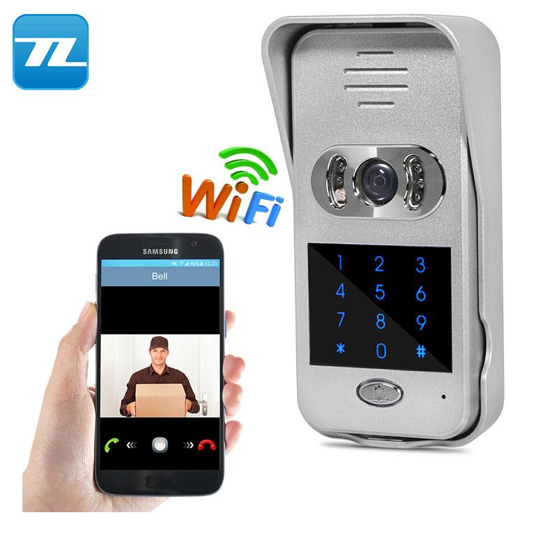 Merveilleux Super Waterproof WiFi Video Door Phone Intercom Doorbell Peephole Camera  Remote Unlock PIR IR Night Vision Alarm Smart Home