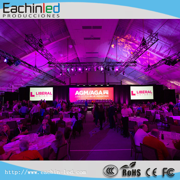 New technology HD LED screen,movable indoor LED video wall 2.9mm