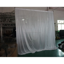 wholesale pipe and drape backdrop wedding ceremony drapery