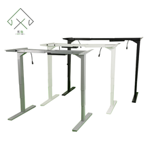Two Legs Electric Modern Stainless Steel Adjustable Desk