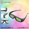 Battery universal IR 3d active shutter TV glasses for hisense TV