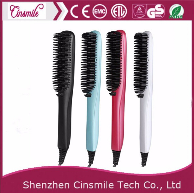 Professional electric hair brush electric brush hair straightening rotating electric hair brush