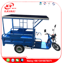 900W 60V 20A 1.0m *1.5m with solar electric cargo 3 wheels motorcycle