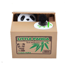 Shantou Factory wholesale Electric ABS Pussy Money Saving Bank Stealing coin bank animal piggy bank money boxes for kids