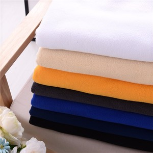 Various color 100% polyester polar fleece fabric