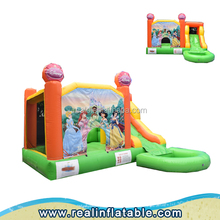 China inflatable pool slide,inflatable combos bounce house with pool for sale,Commercial inflatable bouncer for kids