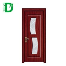 2016 New design kitchen cabinet door interior position PVC wooden door with or without glass