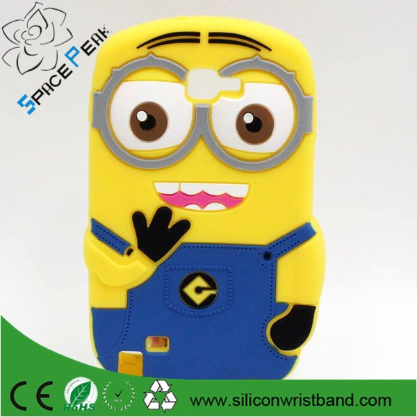 For Samsung Galaxy Core 2 G355h Case Despicable Me Minions Silicone Phone Cases Cover For Samsung Core II G355 G355h