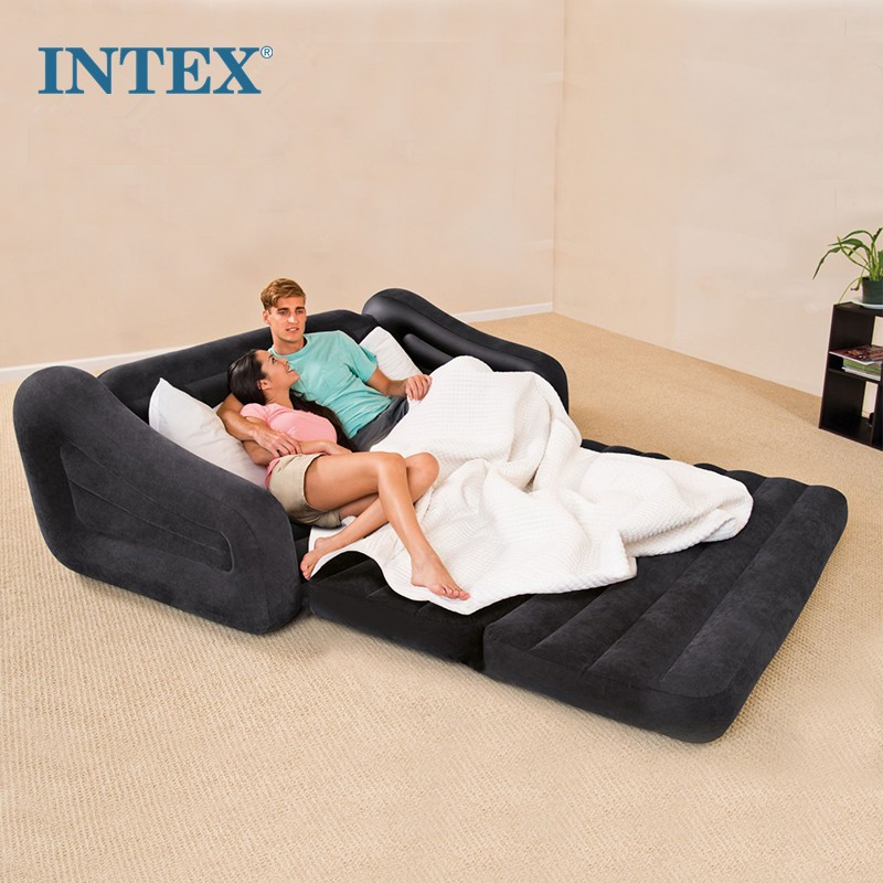 Intex Indoor Pull-out 2-in-1 Valve Air Chair/Sofa