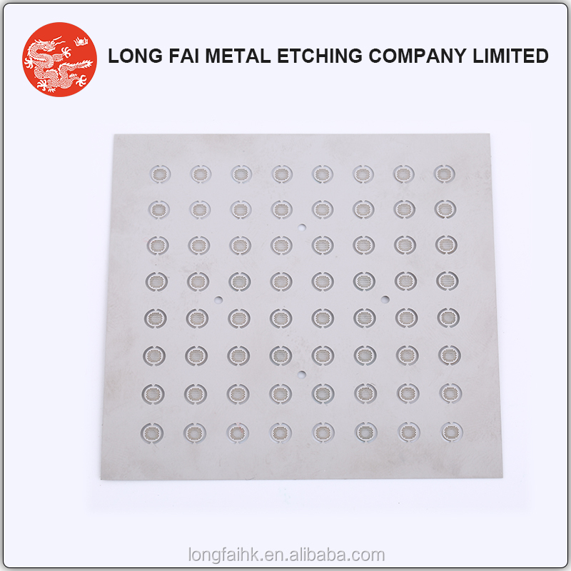 Factory price customized etching expanded metal mesh for earphone