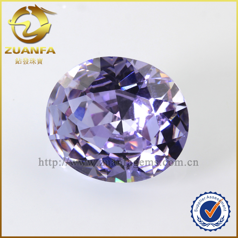 Wuzhou rough diamond buyer 14*16mm cz cubic zirconia price oval shape fake gemstones