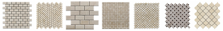 Decorstone24 3'' Hexagon Cream Marfil Bathroom And Kitchen Wall Tiles