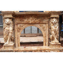 China best fireplace surrounds and mantels modern kits with low price