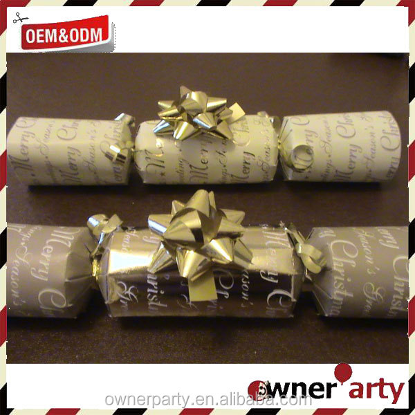 Best price high quality custom Luxury Christmas Crackers