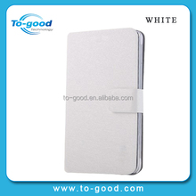 Hot Stand 100% Brand New PU Leather Wallet Cover For Samsung Galaxy S5 I9600 Case Promotional (White)