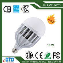 2017 high power led light 18w aluminum and pc bird cage bulb