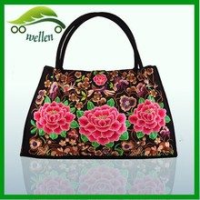 Folk style embroidered bags,large <strong>fashion</strong> carry bags, ethnic handbag