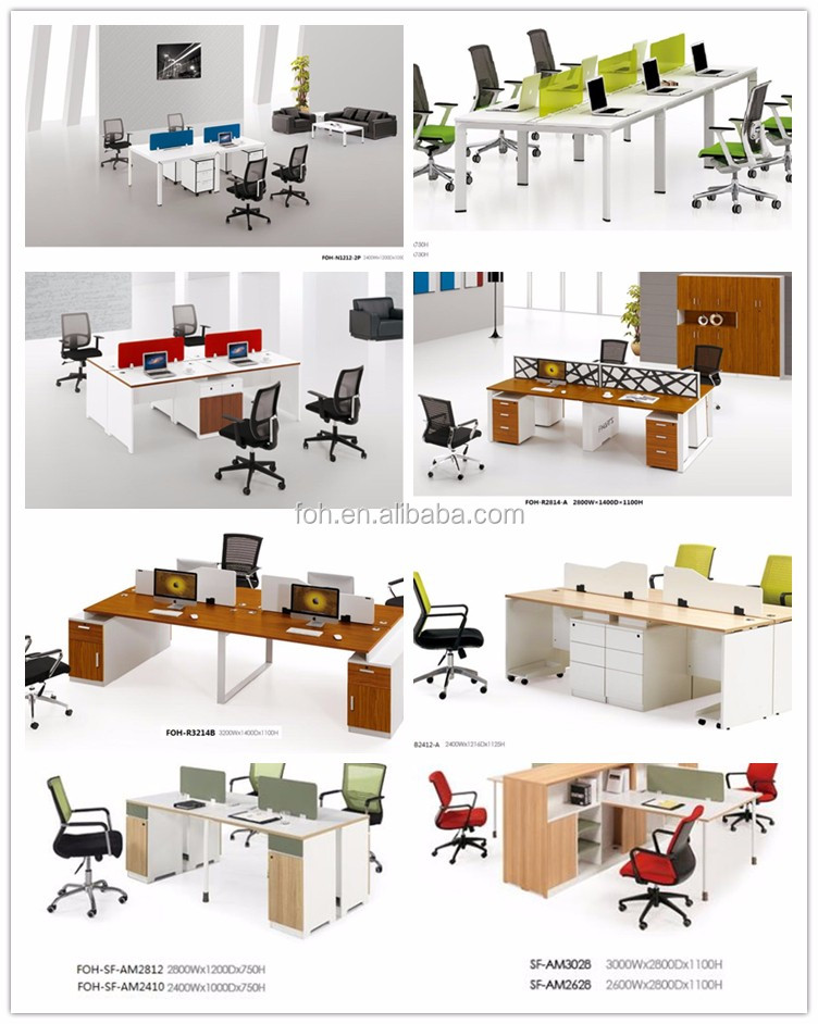 Elegant Full Package Solutions Canada Case Modern Office High Workstation