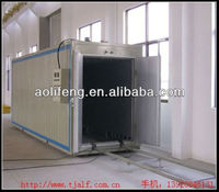low specifications oil heating system bus spray booth