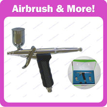 168 Double Action <strong>Airbrush</strong> This pistol trigger action <strong>airbrush</strong> works perfectly with water colors, acrylics, gouaches and enamels