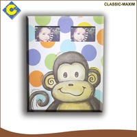 New design CARB/SGIA cartoon monkey house decorative kids picture 6x9 photo frame