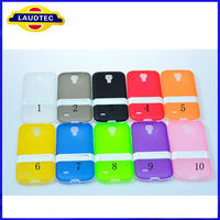 Wholesale hot High Quality with Stand 2 in 1 tpu Case for Samsung Galaxy s4 mini i9190 for Galaxy s4 i9190 tpu case Laudtec